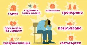 Паническо разстройство 01 лечение, симптоми
