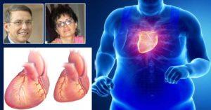 Кое заболяване наричат затлъстяло сърце?