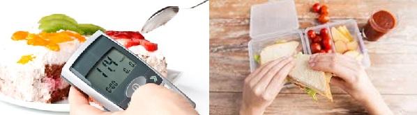 Хранене и диета при захарен диабет, диабет тип 1, диабет тип 2