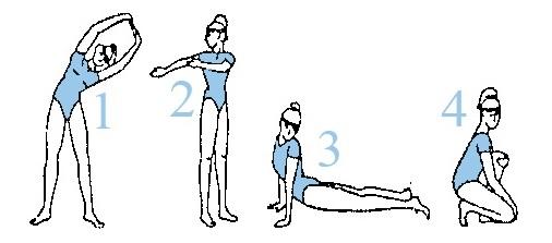 упражнения за детоксикация, гимнастика за детокс