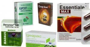 Кои билкови лекарства за черен дроб са добри?